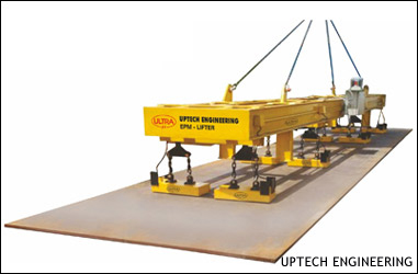 ELECTROPERM MAGNETIC LIFTER for Plate Handling